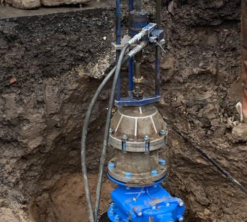 Under pressure drilling
